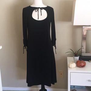 Leona Edmiston Frocks Simple Black Dress Large